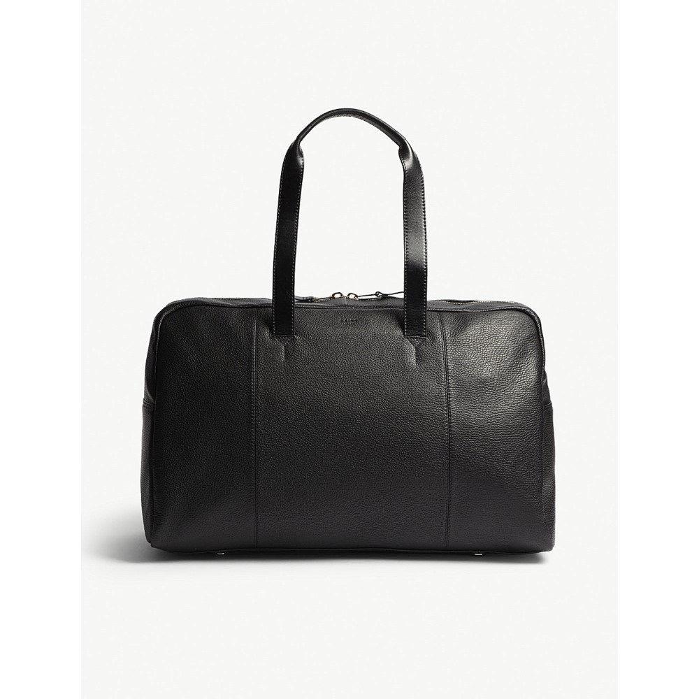 リース メンズ バッグ ボストンバッグ・ダッフルバッグ【bournemouth leather holdall】Black