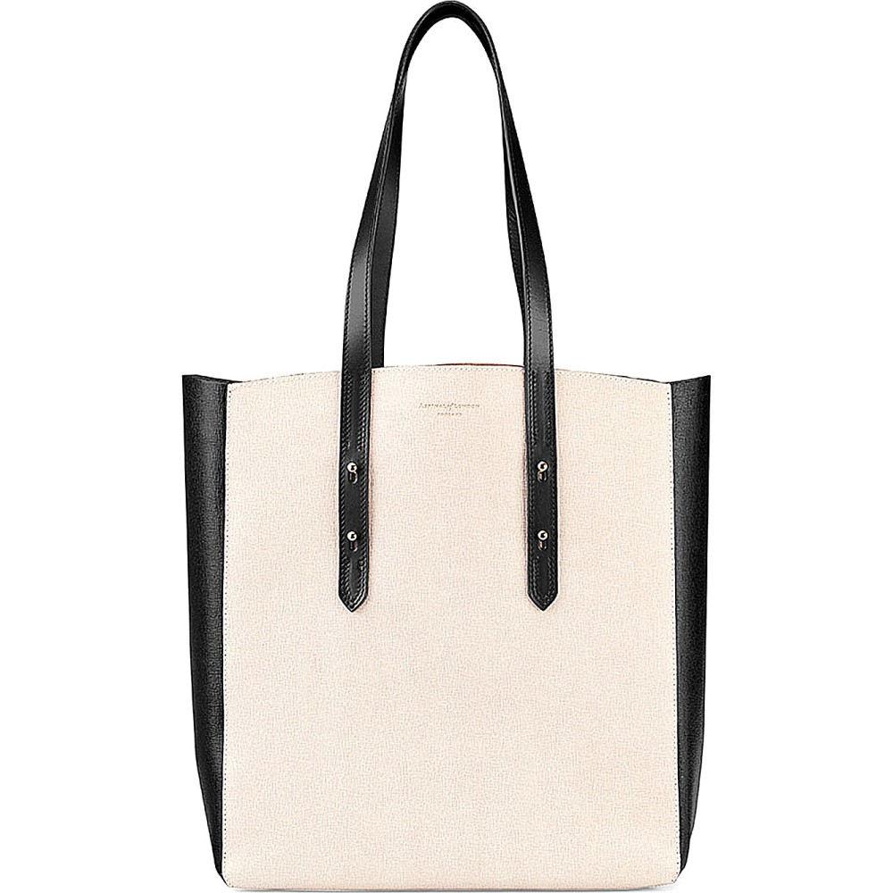 アスピナル オブ ロンドン レディース バッグ トートバッグ【essential saffiano leather tote bag】Monochrome, セレクトプラス:6f5fe330 --- marinaurino.jp