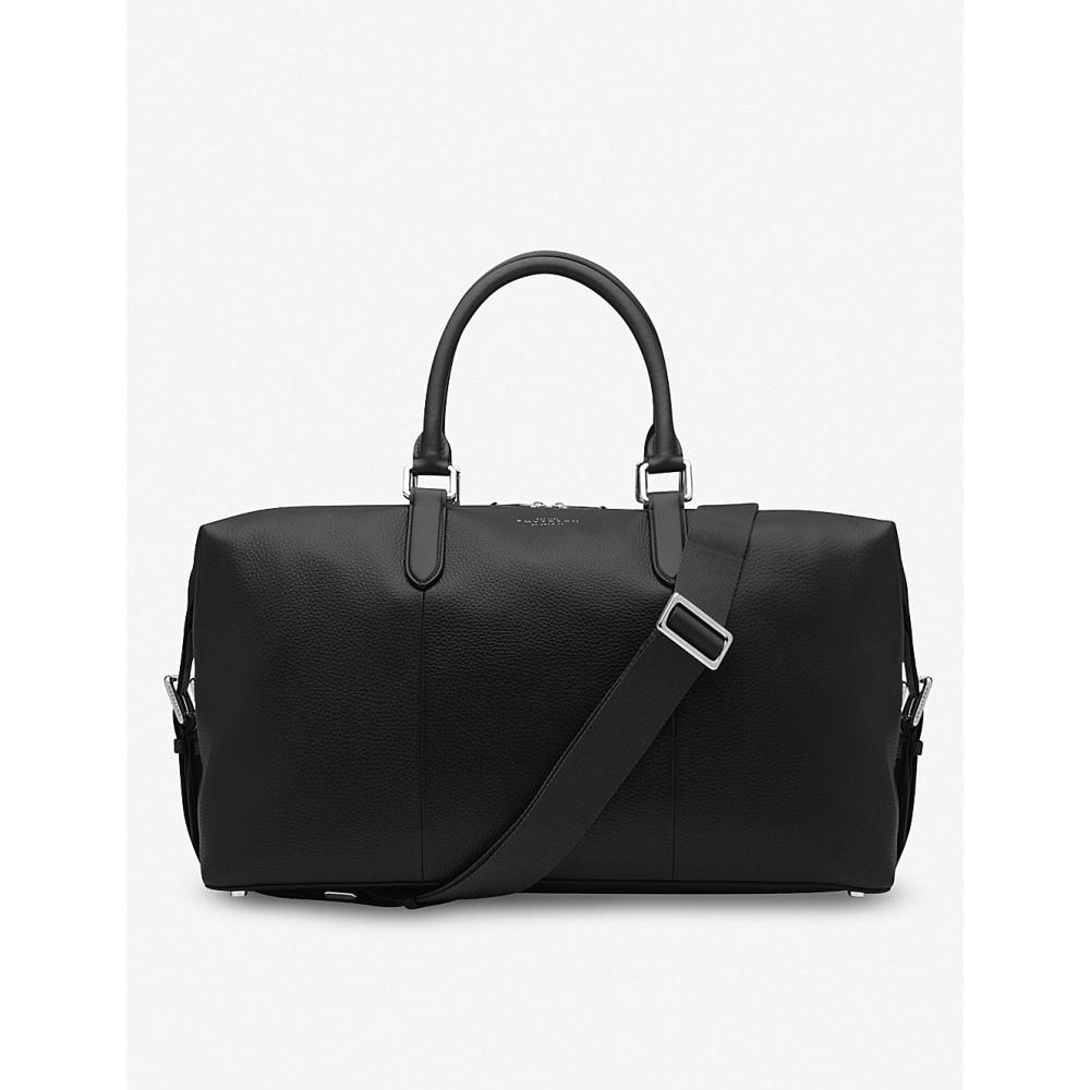 スマイソン メンズ バッグ ボストンバッグ・ダッフルバッグ【burlington leather holdall】Black