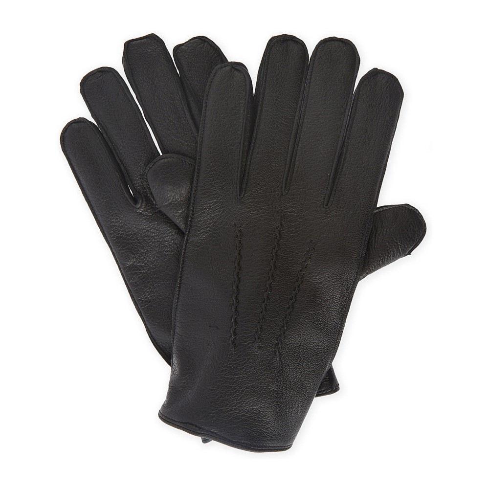 リース メンズ 手袋・グローブ【dents glenworth leather gloves】Black