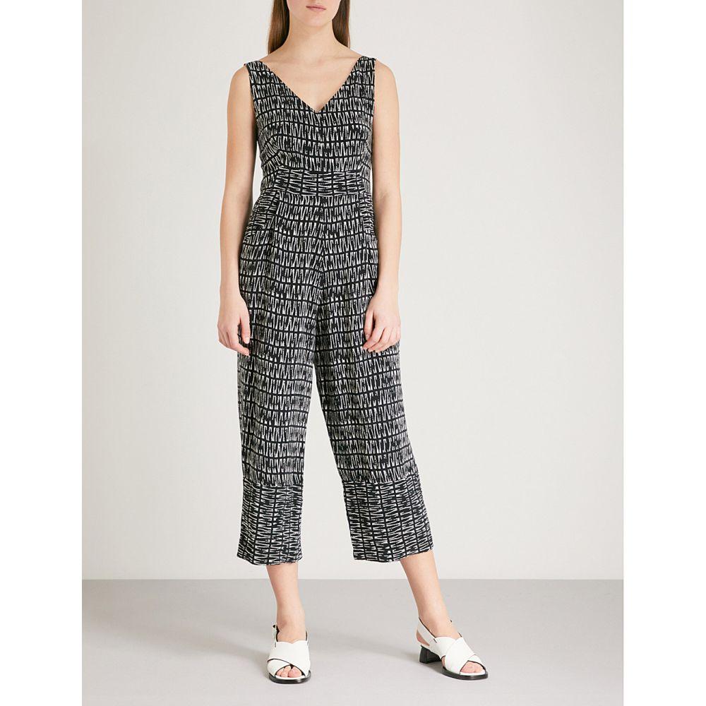 ホイッスルズ レディース ワンピース・ドレス オールインワン【mara printed woven jumpsuit】Black