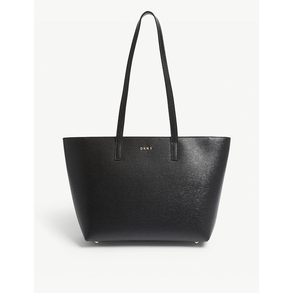 ダナ キャラン ニューヨーク レディース バッグ トートバッグ【bryant park medium leather tote】Black
