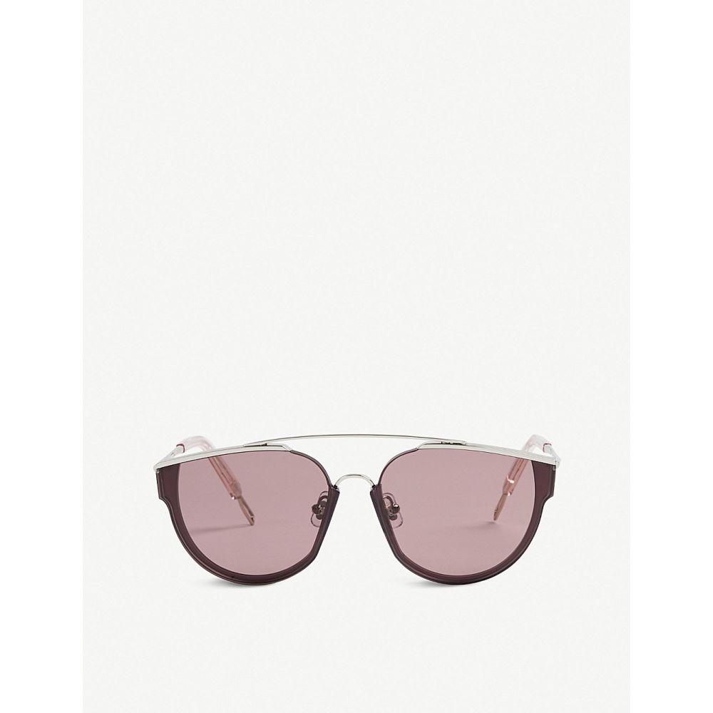 ジェントルモンスター レディース メガネ・サングラス【loe tinted d-frame sunglasses】Purple