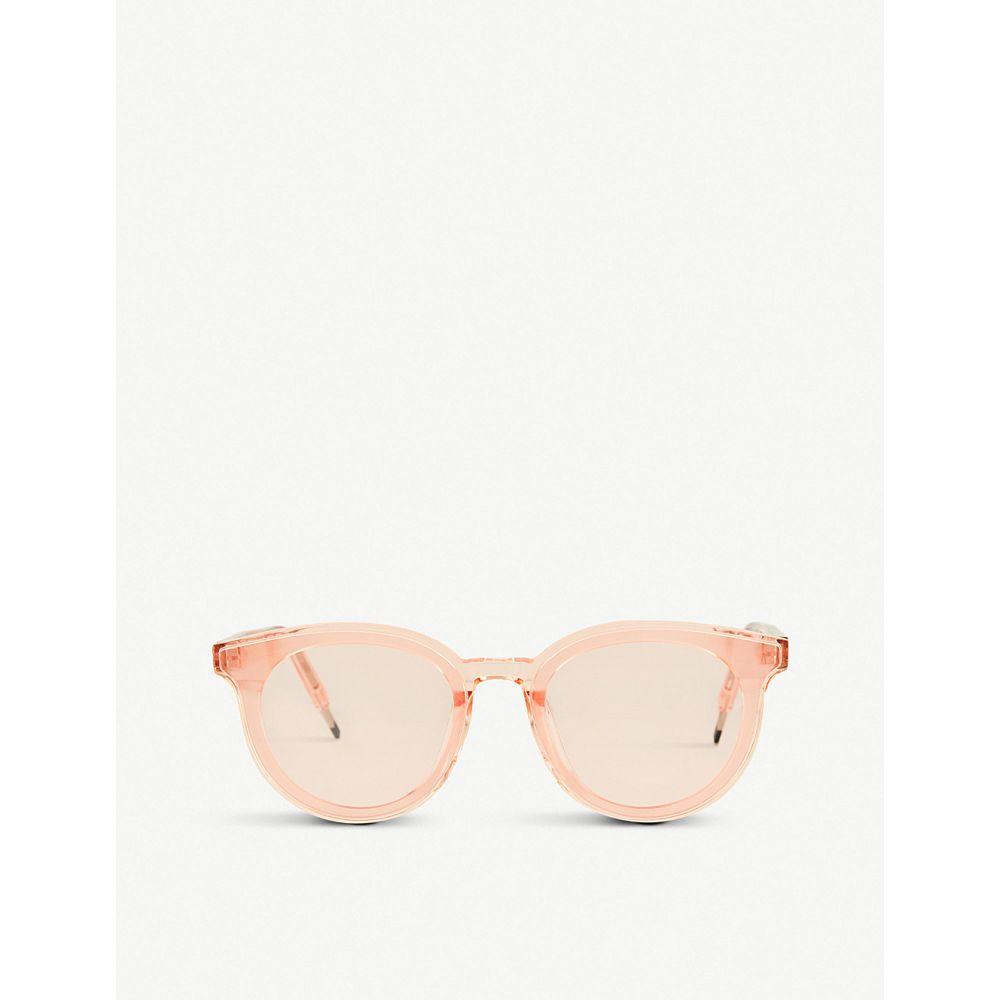 ジェントルモンスター レディース メガネ・サングラス【seesaw acetate sunglasses】Pale pink