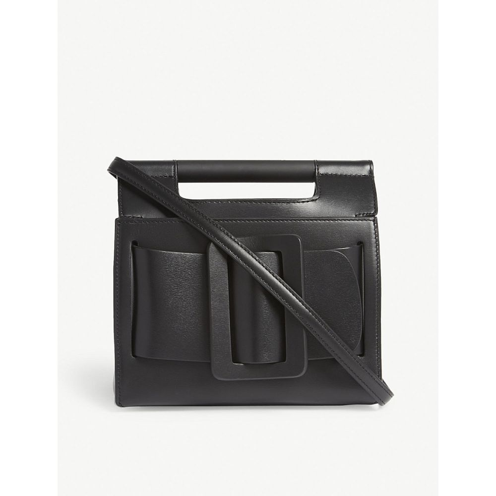 ボーイ レディース バッグ ショルダーバッグ【romeo iridescent pvc shoulder bag】Black