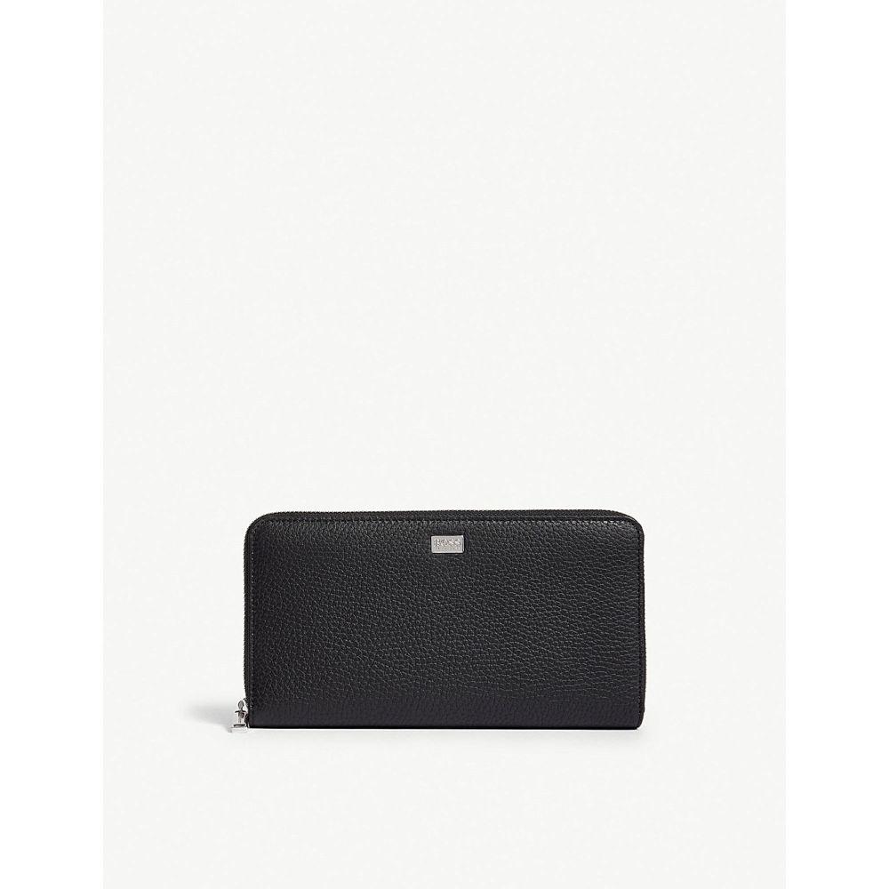 ヒューゴ ボス メンズ 財布【crosstown leather travel wallet】Black