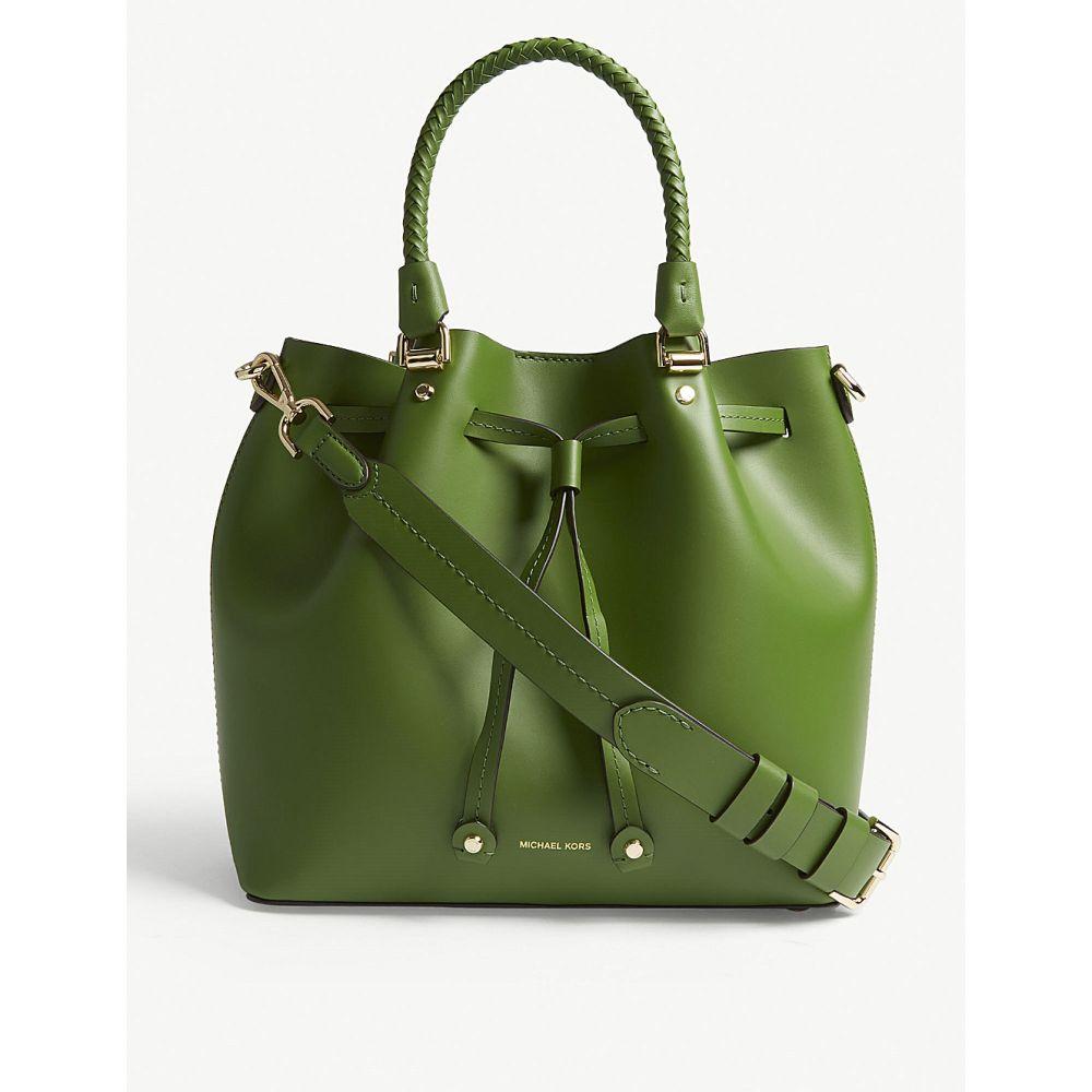 マイケル レディース コース レディース バッグ ハンドバッグ【blakely leather bucket leather バッグ bag】True green, コカコーラ公式 COKE STORE:371ab516 --- sunward.msk.ru