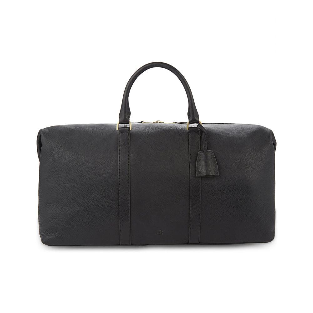 マルベリー メンズ バッグ ボストンバッグ・ダッフルバッグ【medium clipper leather holdall】Black
