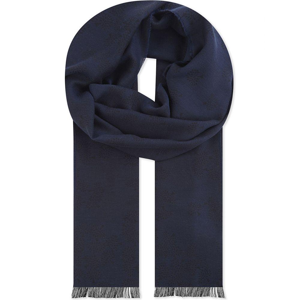 マルベリー レディース マフラー・スカーフ・ストール【tamara cotton scarf】Midnight