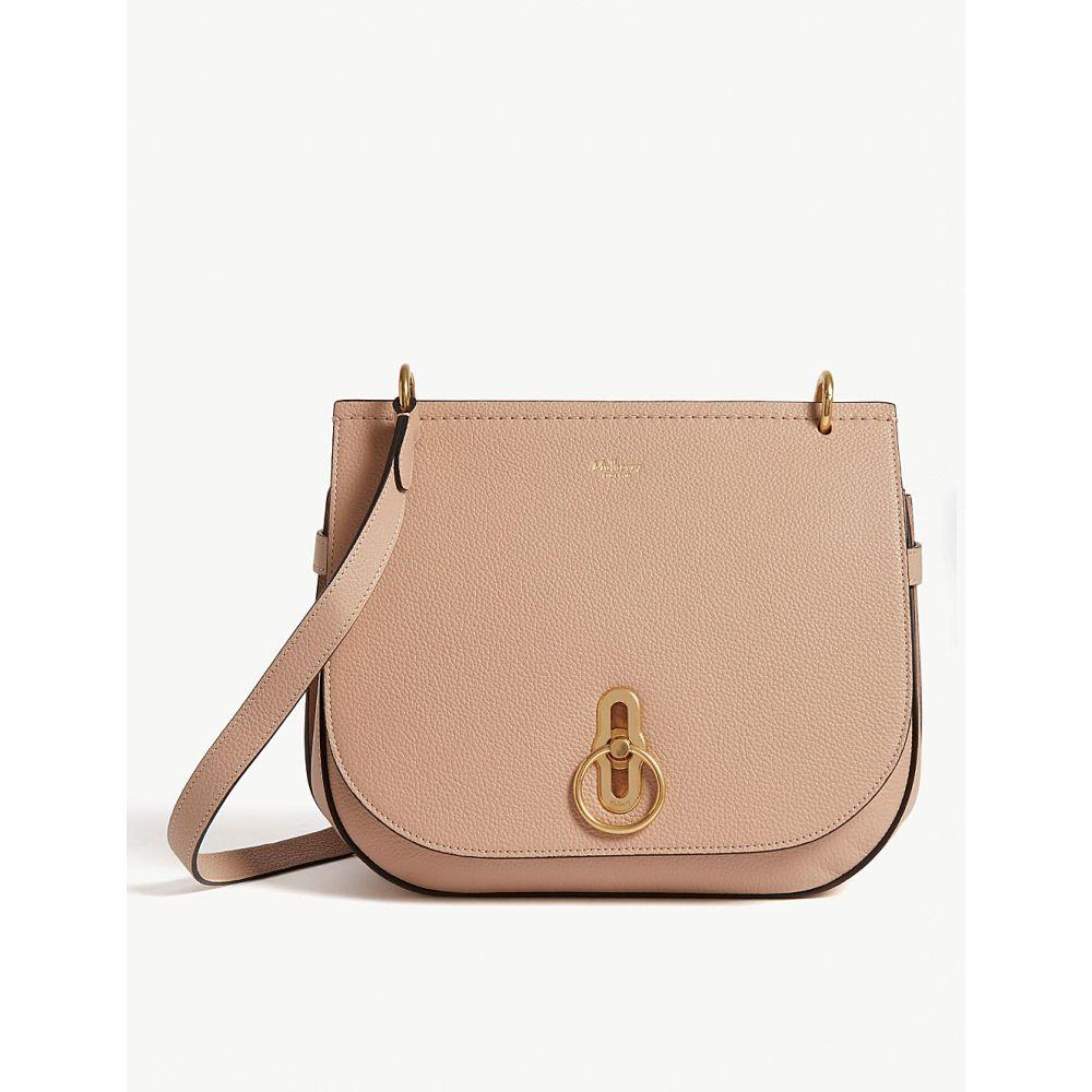マルベリー レディース バッグ ショルダーバッグ【amberley leather satchel bag】Rosewater