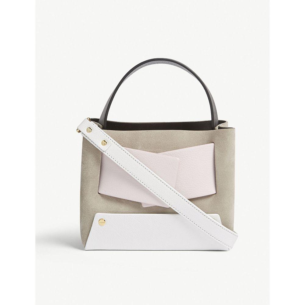ユゼフィ レディース バッグ ショルダーバッグ【dinky leather and suede cross-body bag】Earth/candy
