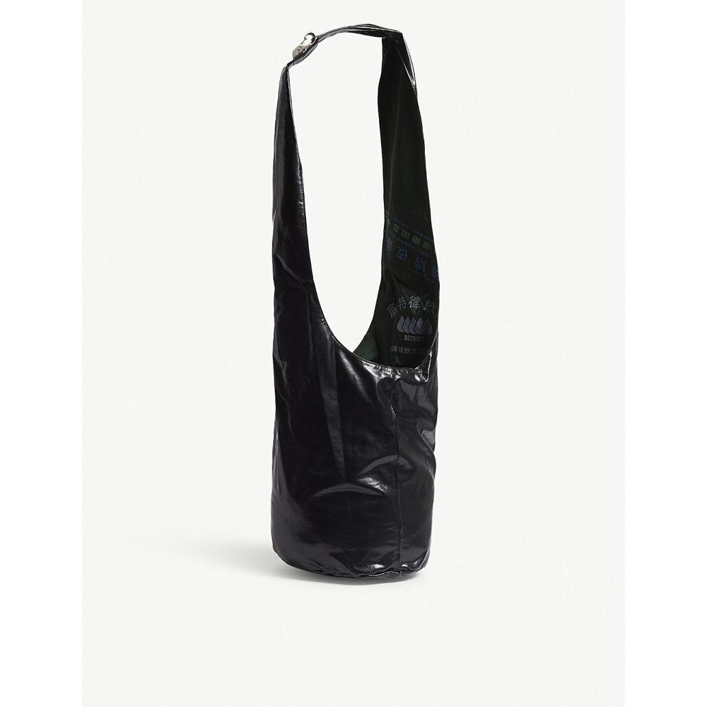 ラフ シモンズ レディース バッグ ショルダーバッグ【twisted patent shoulder bag】Dark green