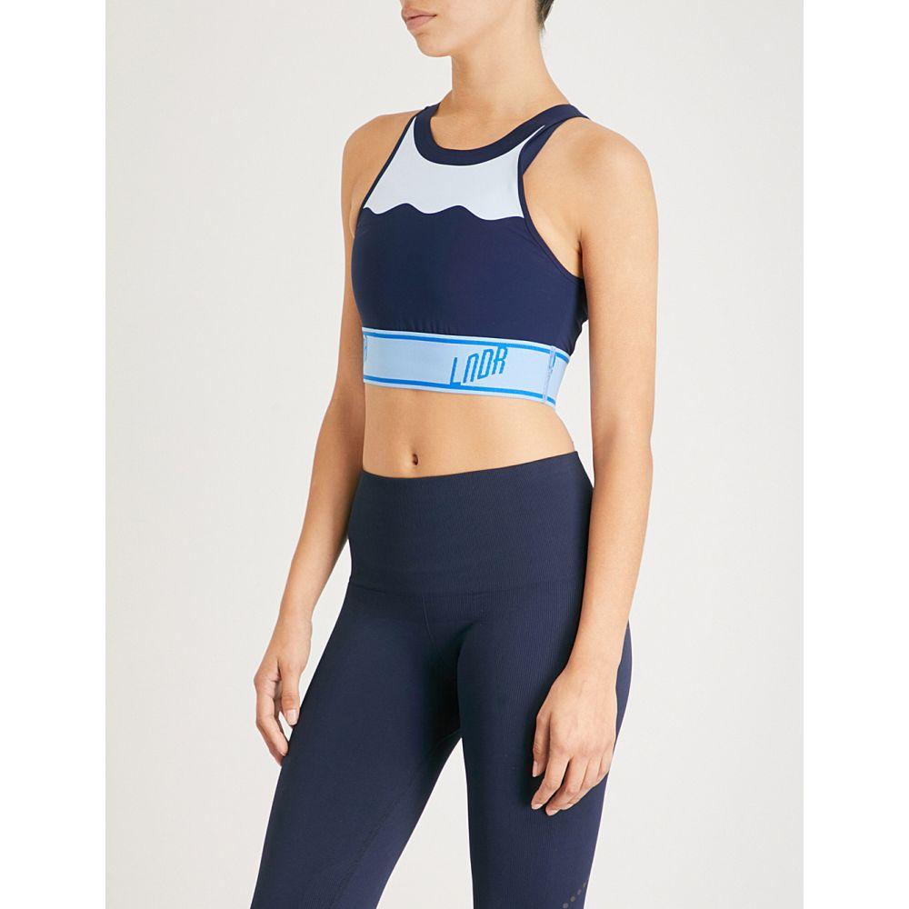 LNDR レディース インナー・下着 スポーツブラ【swell stretch-jersey sports bra】Navy