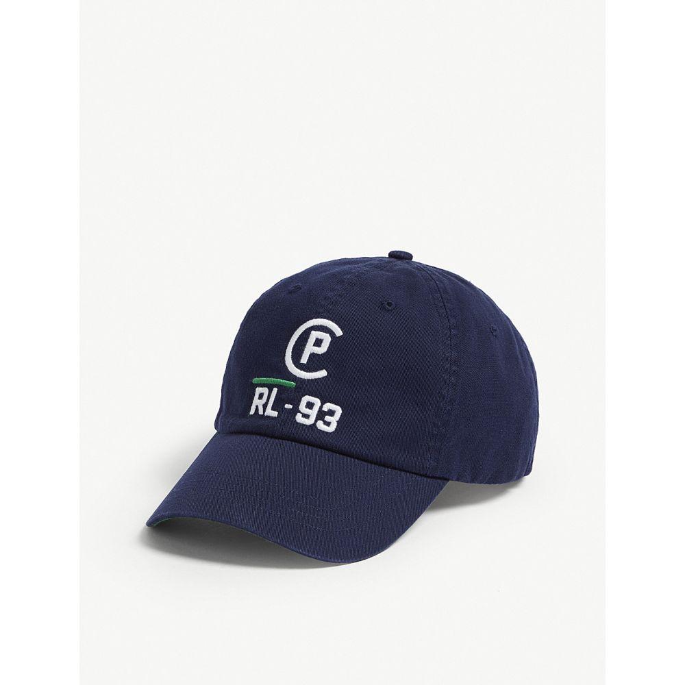 ラルフ ローレン レディース 帽子 キャップ【cp-93 cotton strapback cap】Newport navy