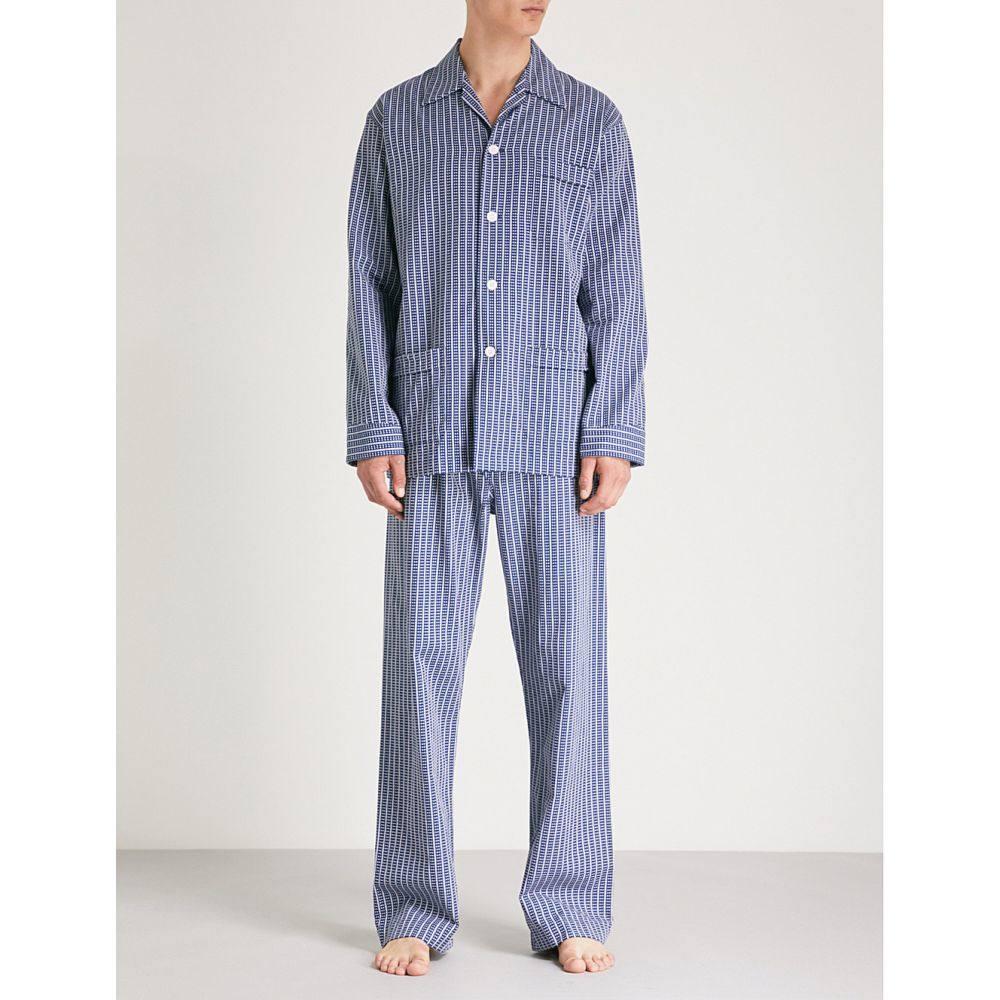 世界有名な デリック ローズ cotton メンズ インナー・下着 パジャマ・上下セット【royal cotton デリック ローズ pyjama set】Navy, 港南区:36fe56bf --- supercanaltv.zonalivresh.dominiotemporario.com