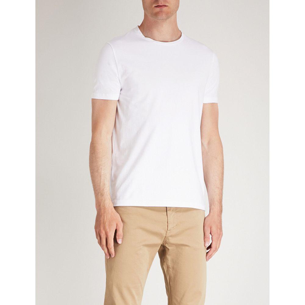 ヒューゴ ボス メンズ トップス Tシャツ【crewneck pack of two cotton-jersey t-shirts】White