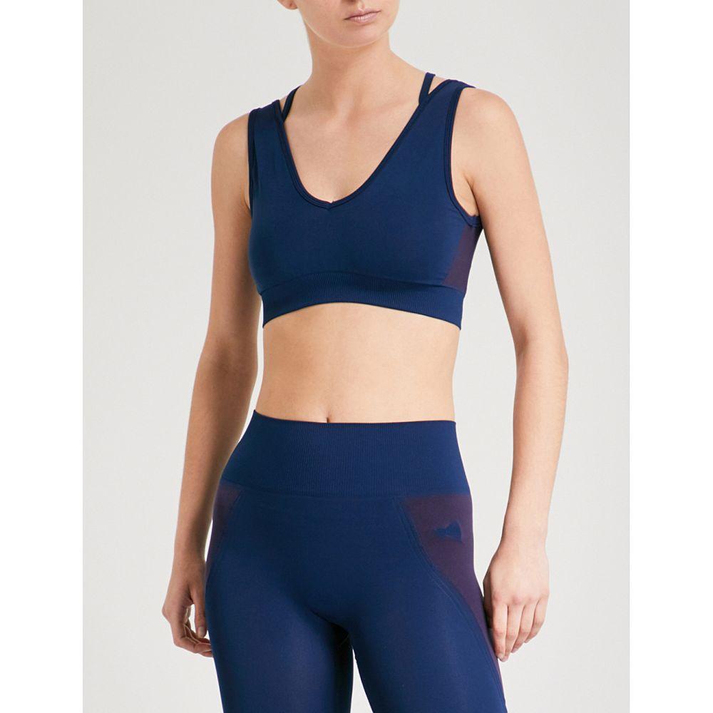 ラーイン レディース インナー・下着 スポーツブラ【sophia stretch-jersey sports bra】Navy burgundy