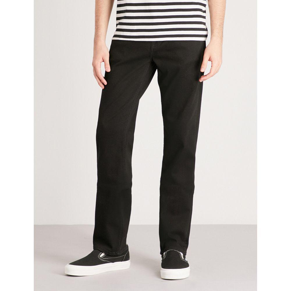 セブン フォー オール マンカインド メンズ ボトムス・パンツ ジーンズ・デニム【slimmy luxe performance slim-fit tapered jeans】Rinse black