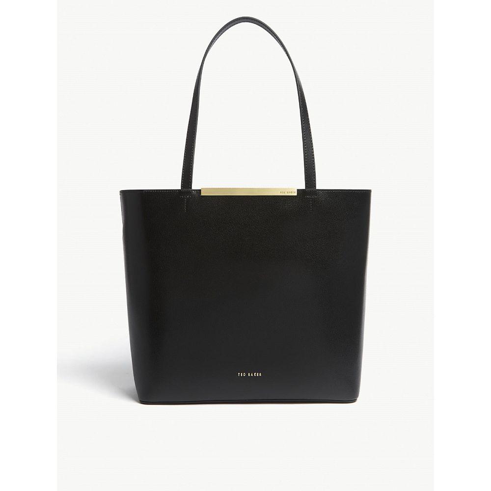 テッドベーカー レディース バッグ トートバッグ【melisa large leather tote】Black