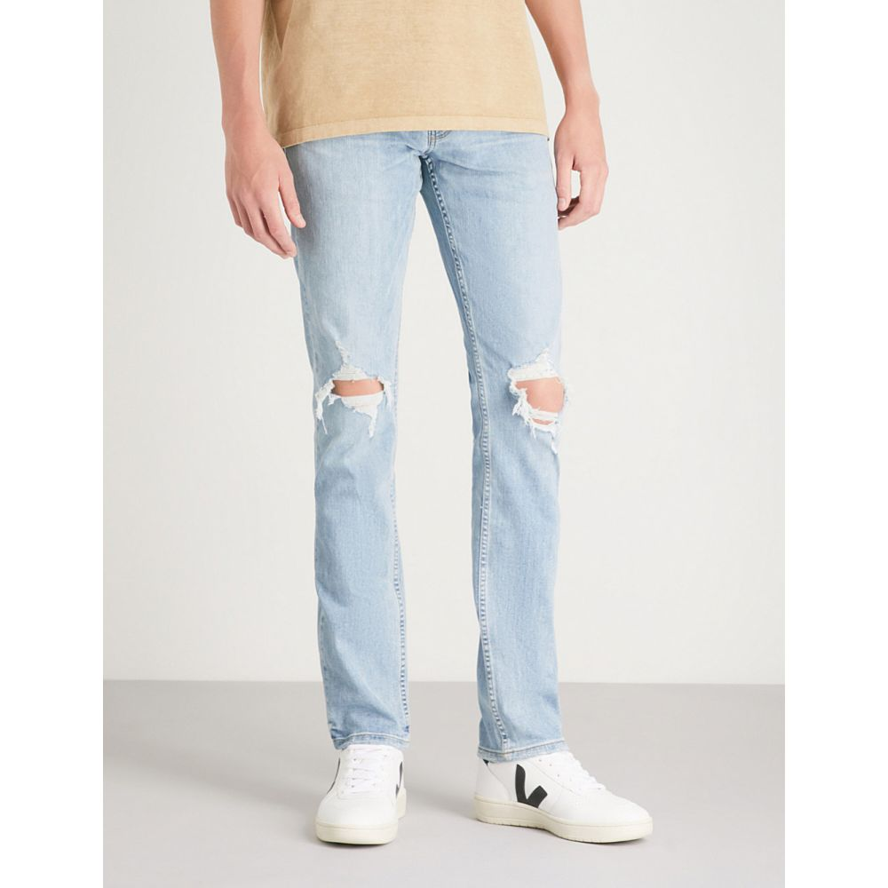 ペイジ メンズ ボトムス・パンツ ジーンズ・デニム【lennox slim-fit skinny jeans】County destructed