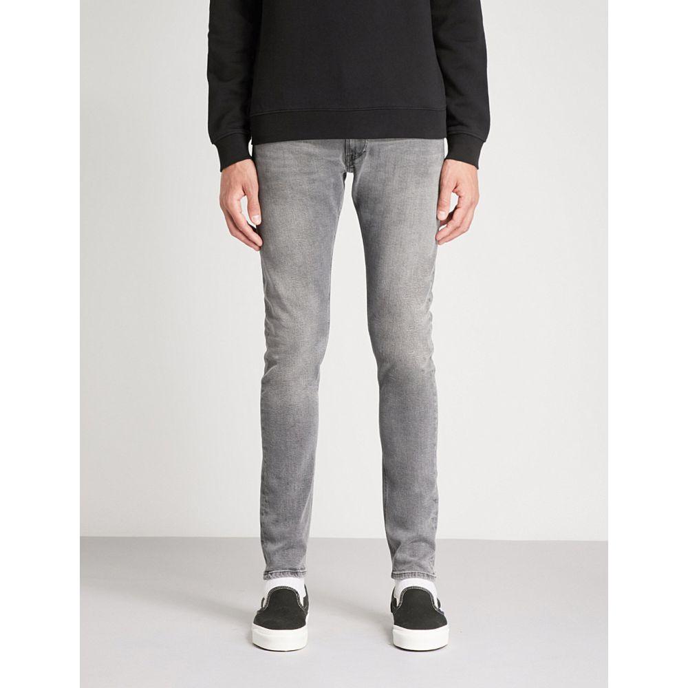 リプレイ メンズ ボトムス・パンツ ジーンズ・デニム【jondrill slim-fit skinny jeans】Washed grey