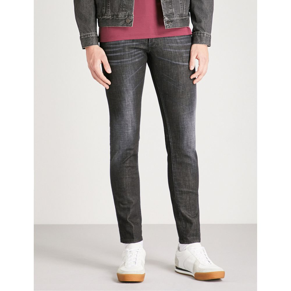 ディースクエアード メンズ ボトムス・パンツ ジーンズ・デニム【clement regular-fit faded skinny jeans】Black