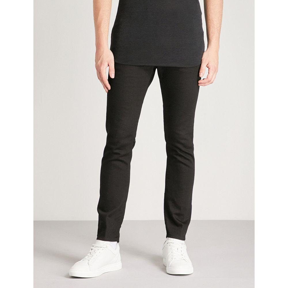 ae4b333d7292ce ディースクエアード メンズ ボトムス・パンツ ジーンズ・デニム【skater slim-fit zip-detail skinny  jeans】Black