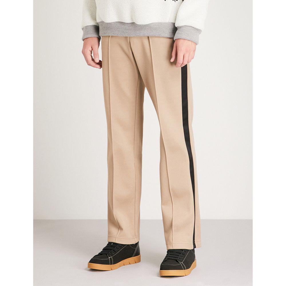メゾン マルジェラ メンズ ボトムス・パンツ【side-stripe regular-fit straight woven trousers】Sand