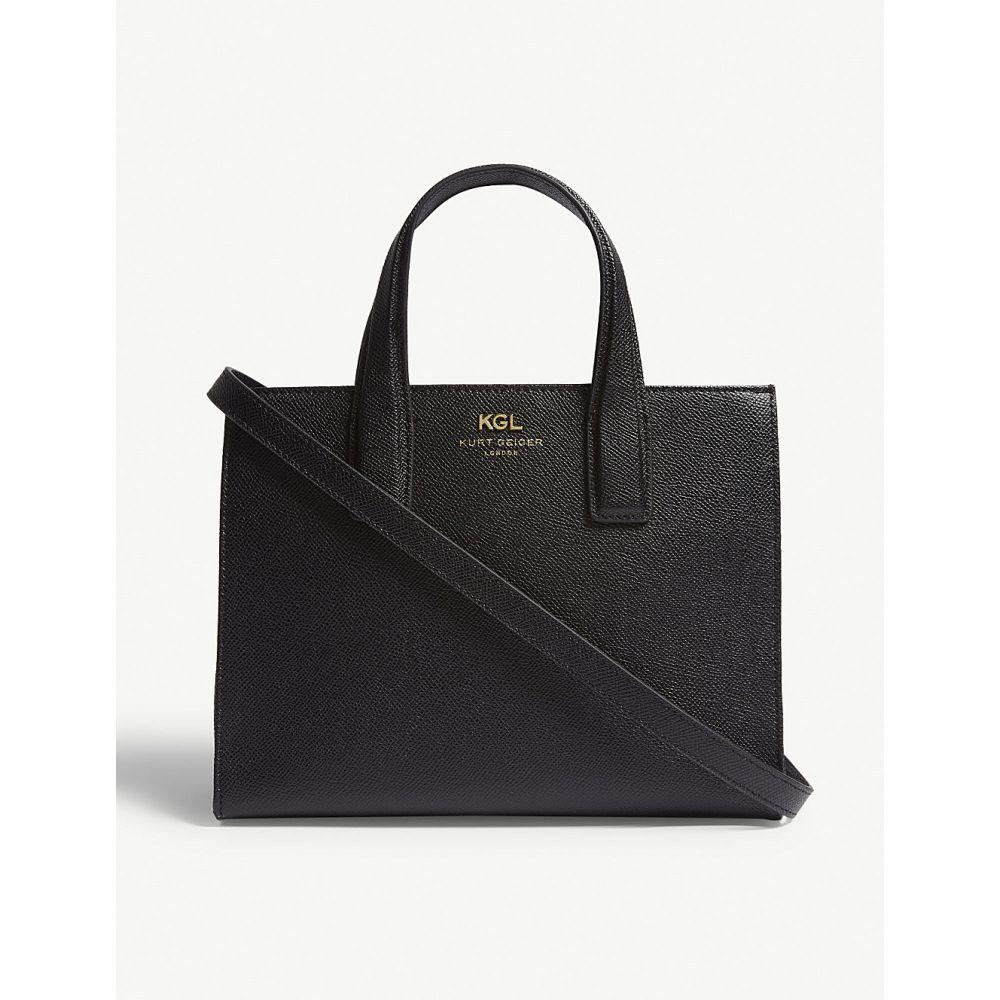 カート ジェイガー レディース バッグ トートバッグ【london small saffiano leather tote】Black