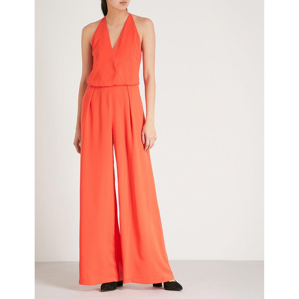 リース レディース ワンピース・ドレス オールインワン【yeva woven jumpsuit】Sunset orange
