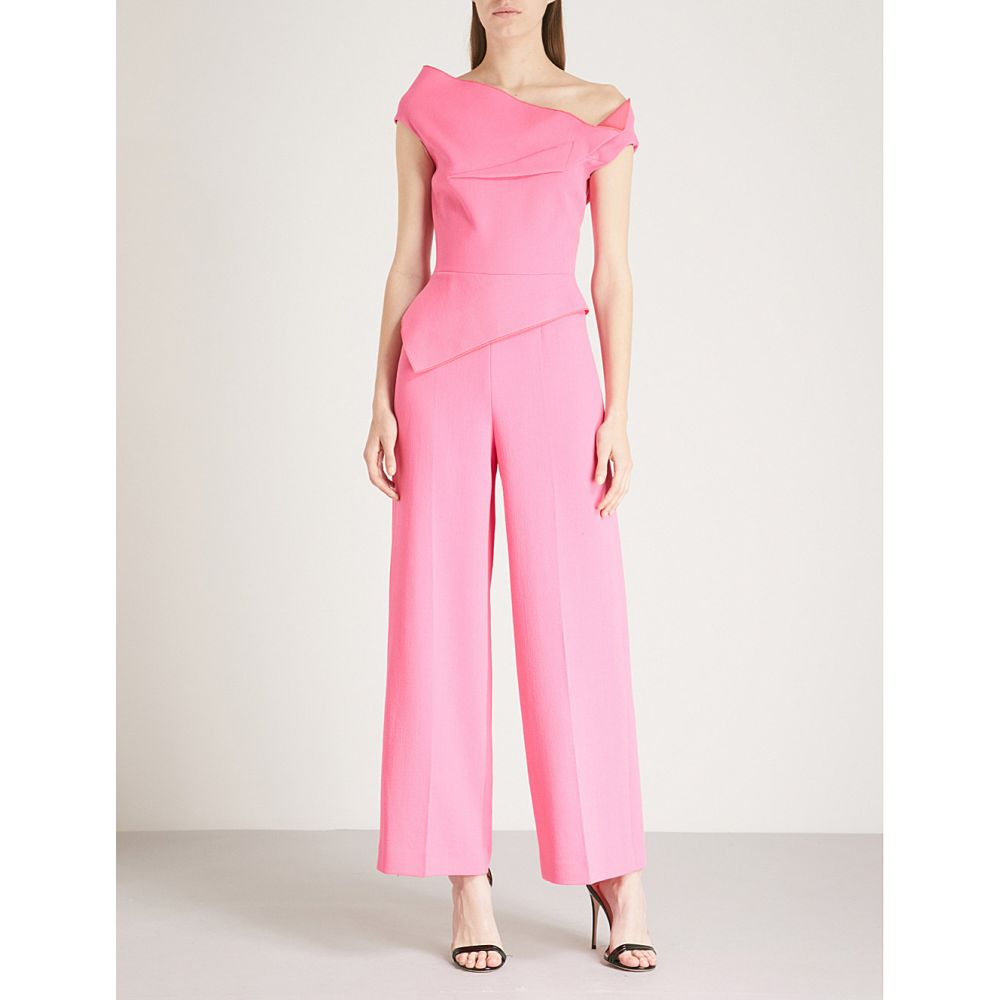 ローラン ムレ レディース ワンピース・ドレス オールインワン【gable wool-crepe jumpsuit】Candy pink