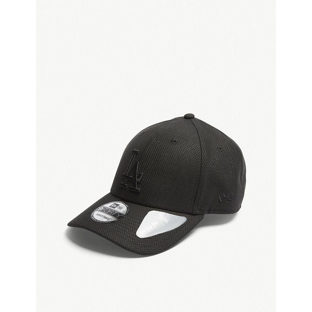 ニューエラ メンズ 帽子 キャップ【la dodgers diamond era 9forty baseball cap】Black