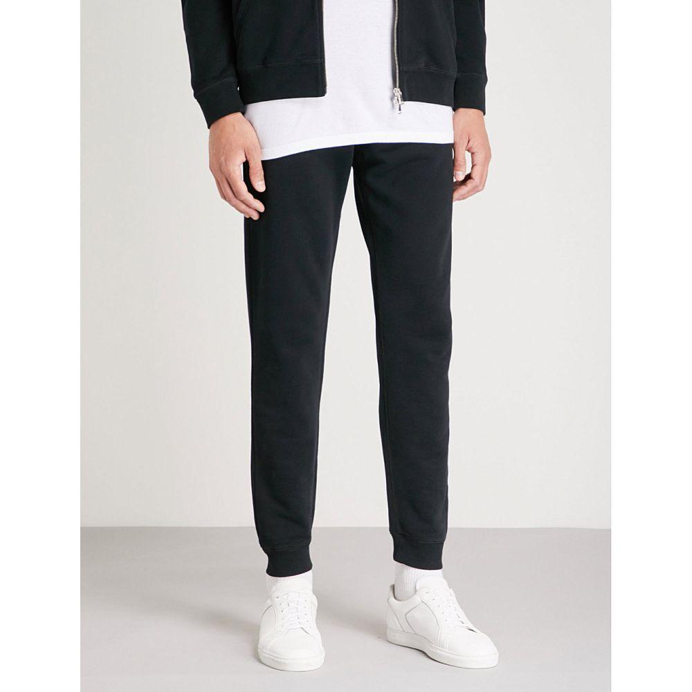 サンスペル メンズ ボトムス・パンツ【tapered cotton-jersey jogging bottoms】Black