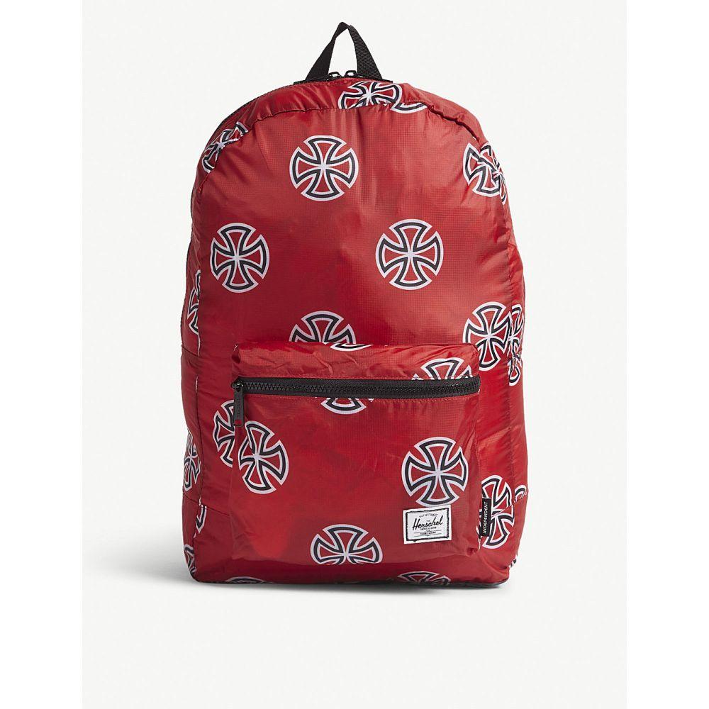 ハーシェル サプライ メンズ バッグ バックパック・リュック【packable printed backpack】Red