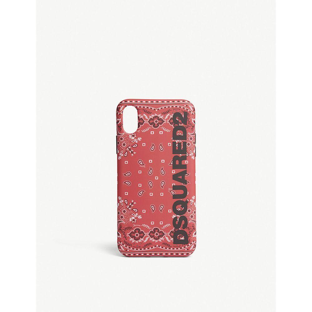 ディースクエアード メンズ iPhone (X)ケース【iphone x phone case】Red