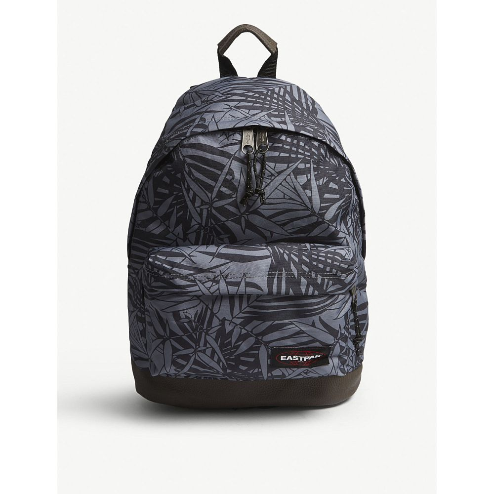イーストパック レディース バッグ バックパック・リュック【wyoming new era backpack】Leaves black