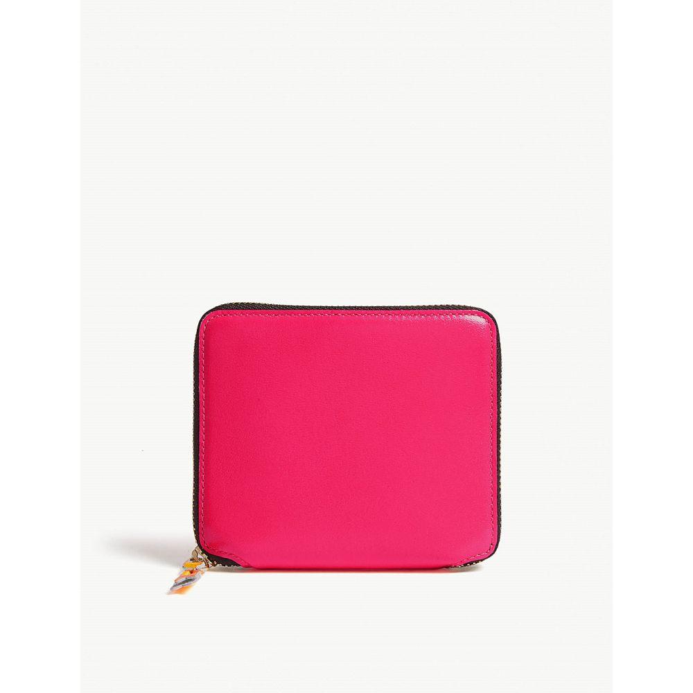 コム デ ギャルソン レディース 財布【fluo medium leather wallet】Pink