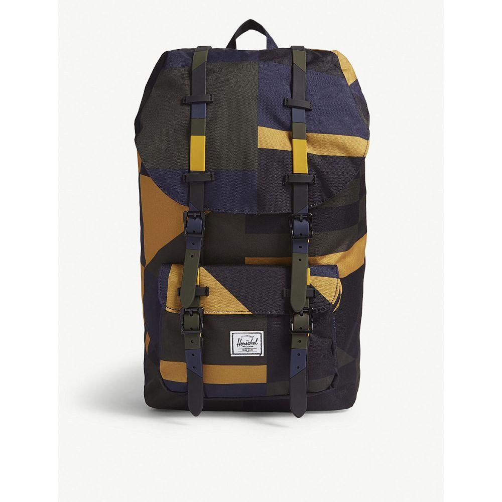 ハーシェル サプライ メンズ バッグ バックパック・リュック【little america canvas backpack】Arrowwood frontier geo
