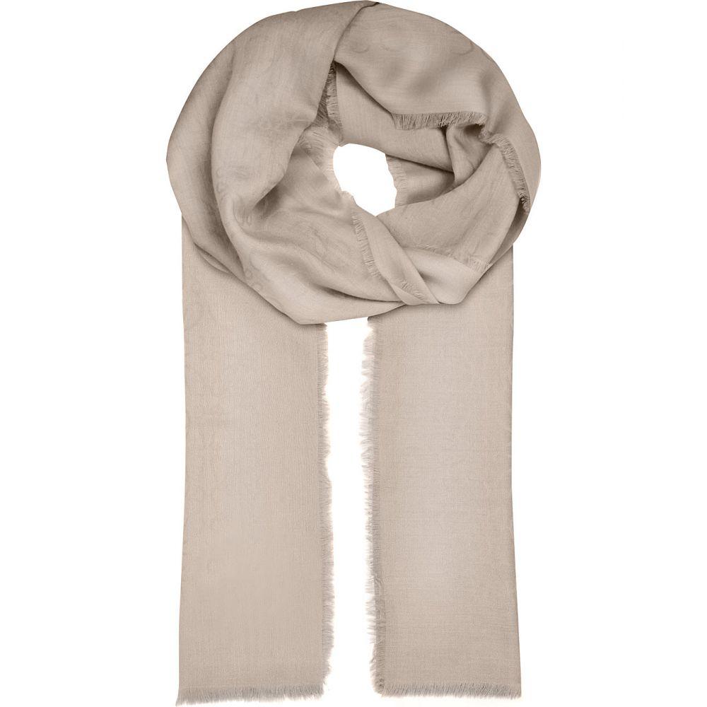 ロエベ レディース マフラー・スカーフ・ストール【anagram jacquard scarf】Light grey