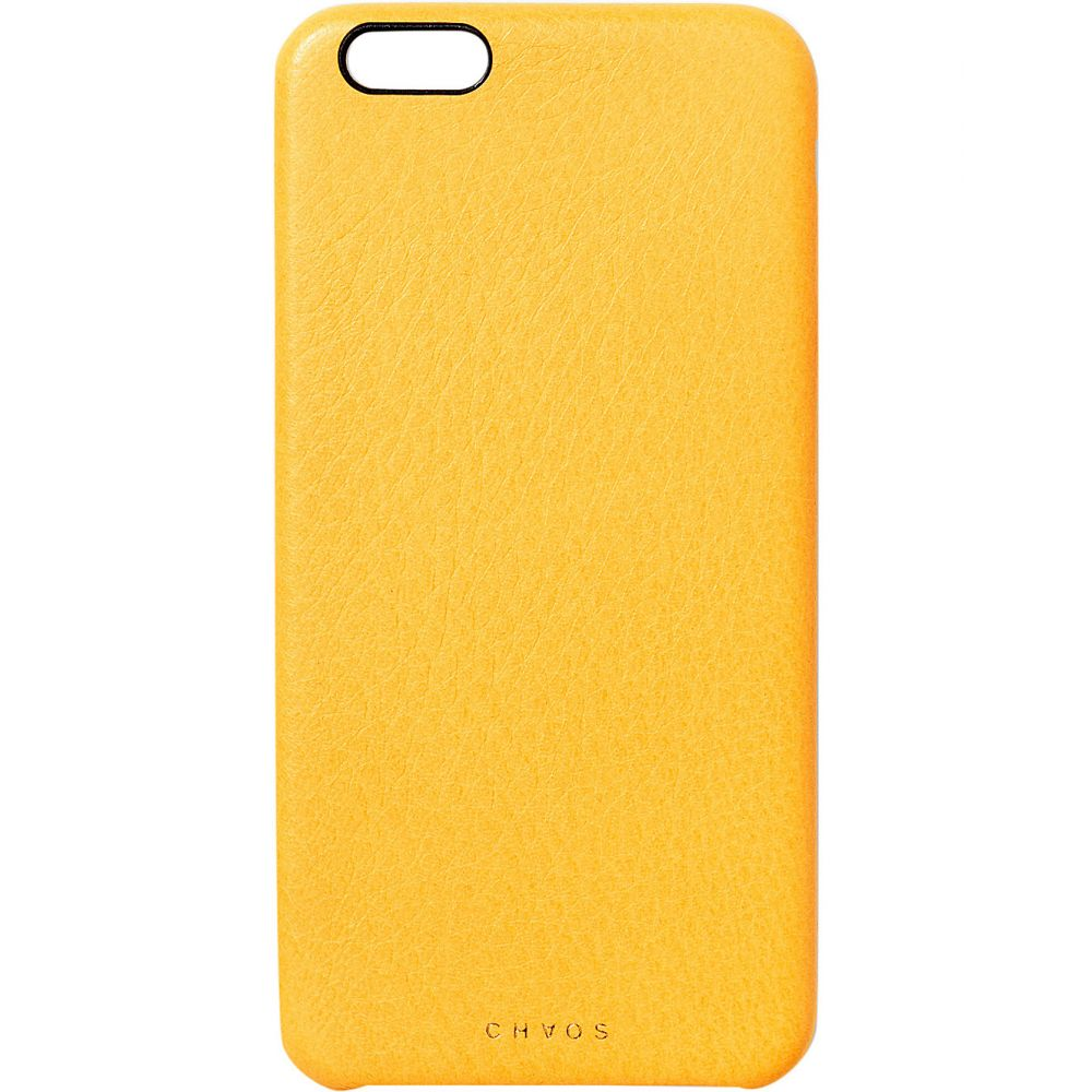 カオス レディース iPhone (6/6s Plus)ケース【leather iphone 6+ case】Yellow