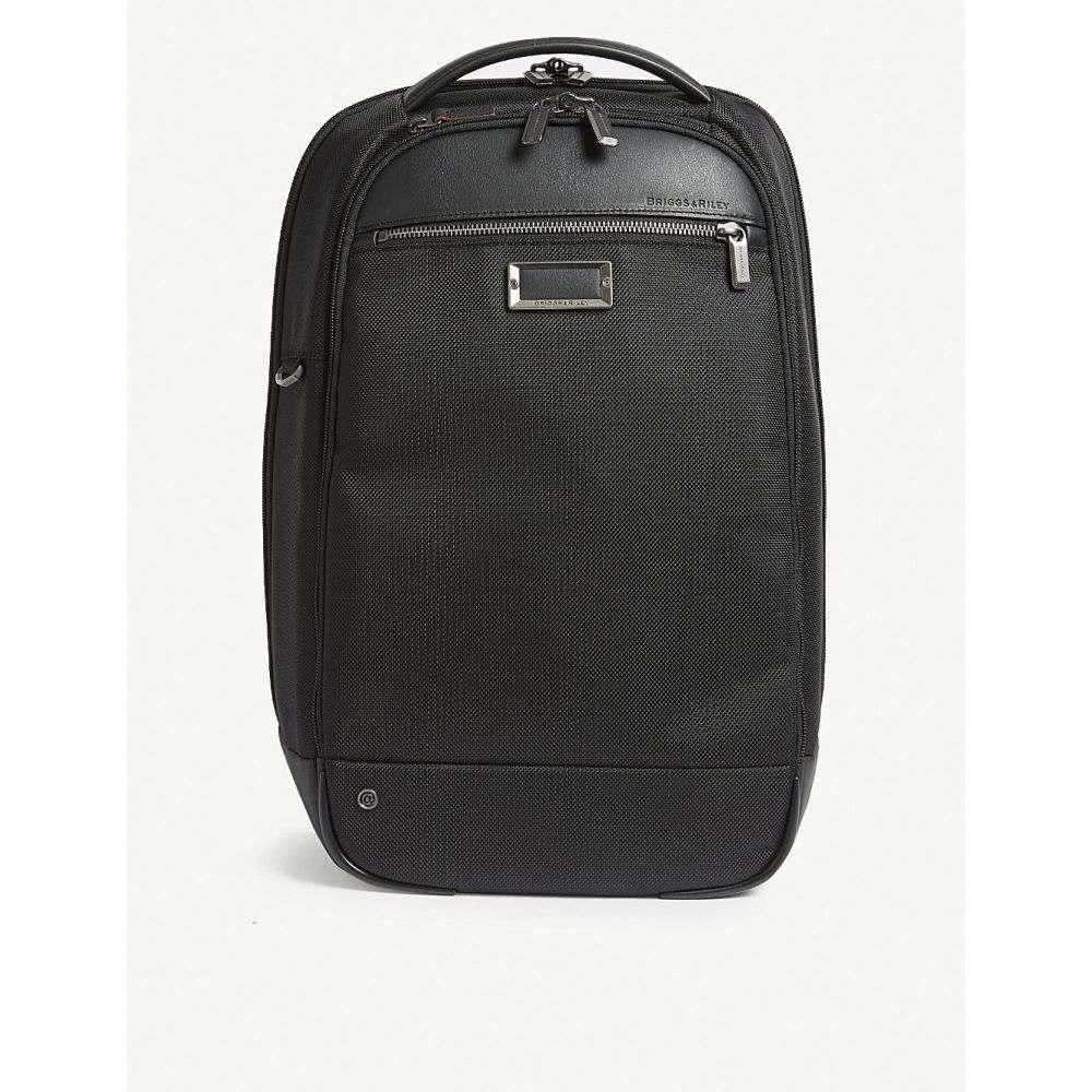 激安超安値 ブリッグスアンドライリー メンズ nylon バッグ バックパック・リュック【work slim nylon backpack メンズ バッグ】Black, 見事な創造力:e92833b3 --- mail.abenterprise.net.in