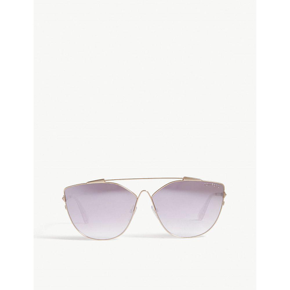 トム フォード レディース メガネ・サングラス【jacquelyn cat-eye sunglasses】Gold