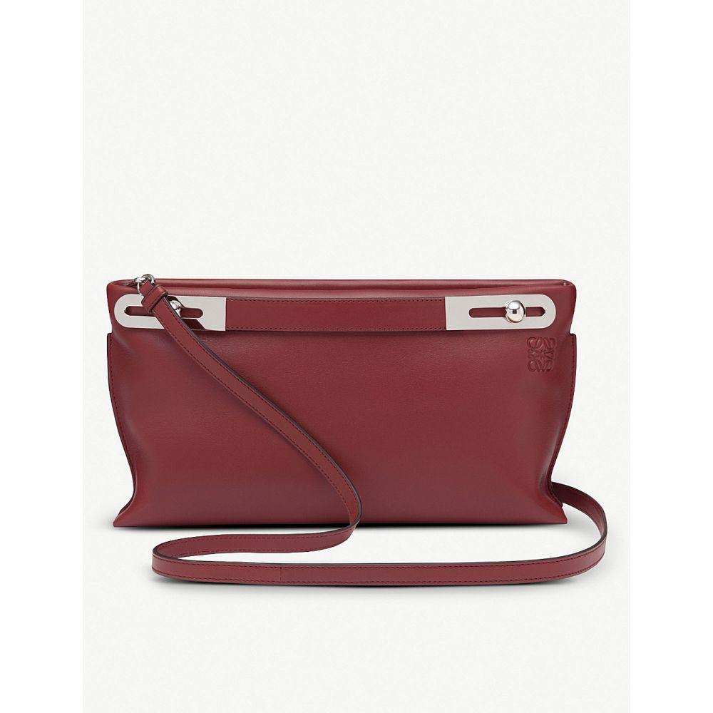 ロエベ レディース バッグ【missy leather bag】Brick red