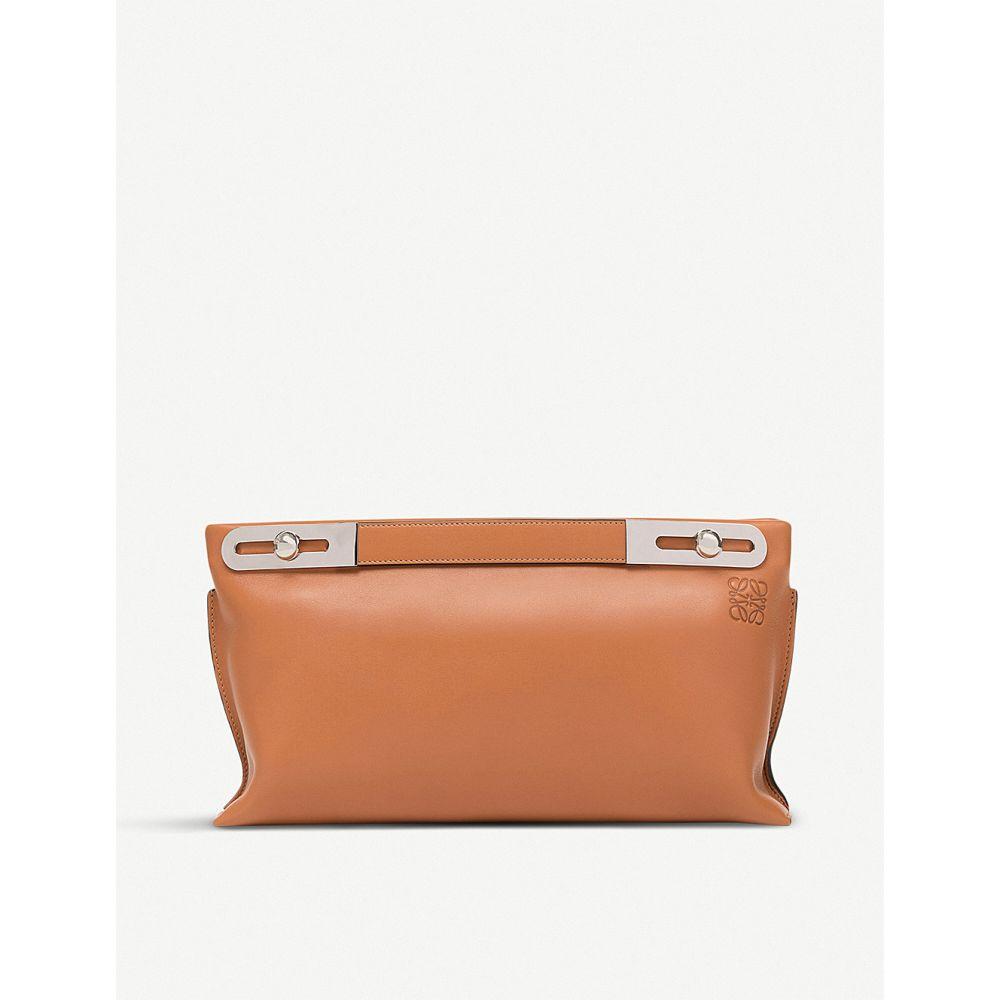 ロエベ レディース バッグ【missy leather bag】Tan