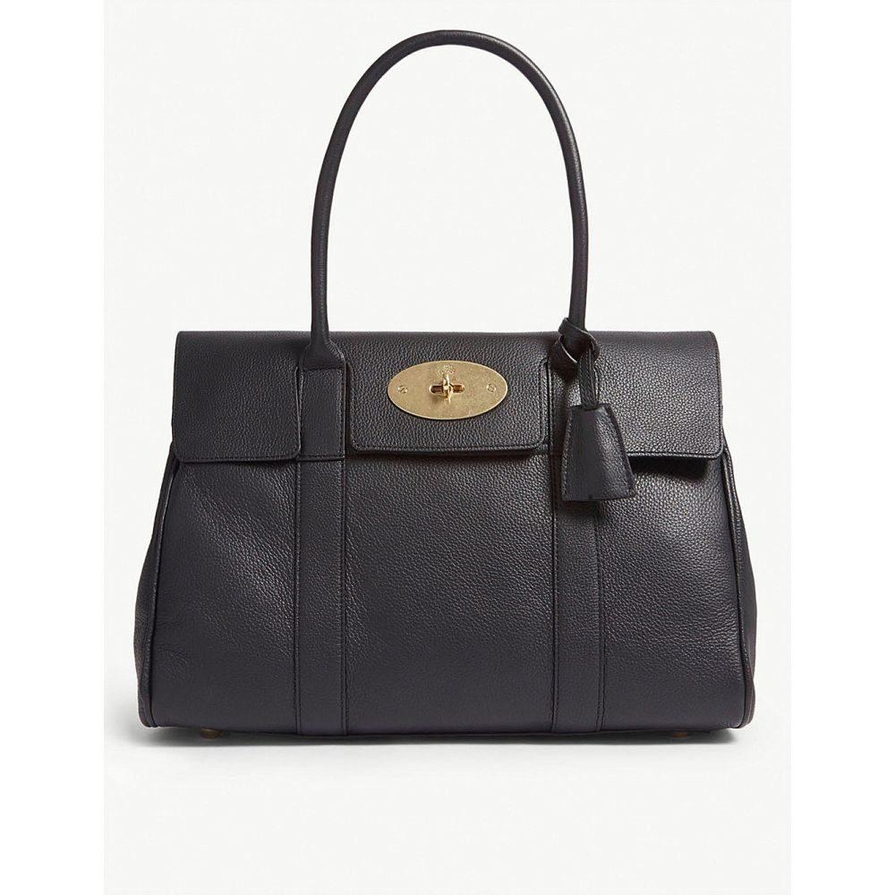 マルベリー レディース バッグ ハンドバッグ【bayswater leather bag】Black brass