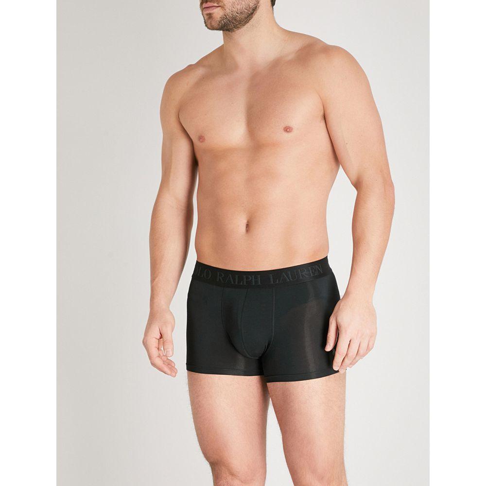 激安の ラルフ ローレン メンズ trunks】Black stretch-modal インナー・下着 ボクサーパンツ【solid classic-fit ローレン stretch-modal trunks】Black, Heartful:0a5b3ef9 --- business.personalco5.dominiotemporario.com