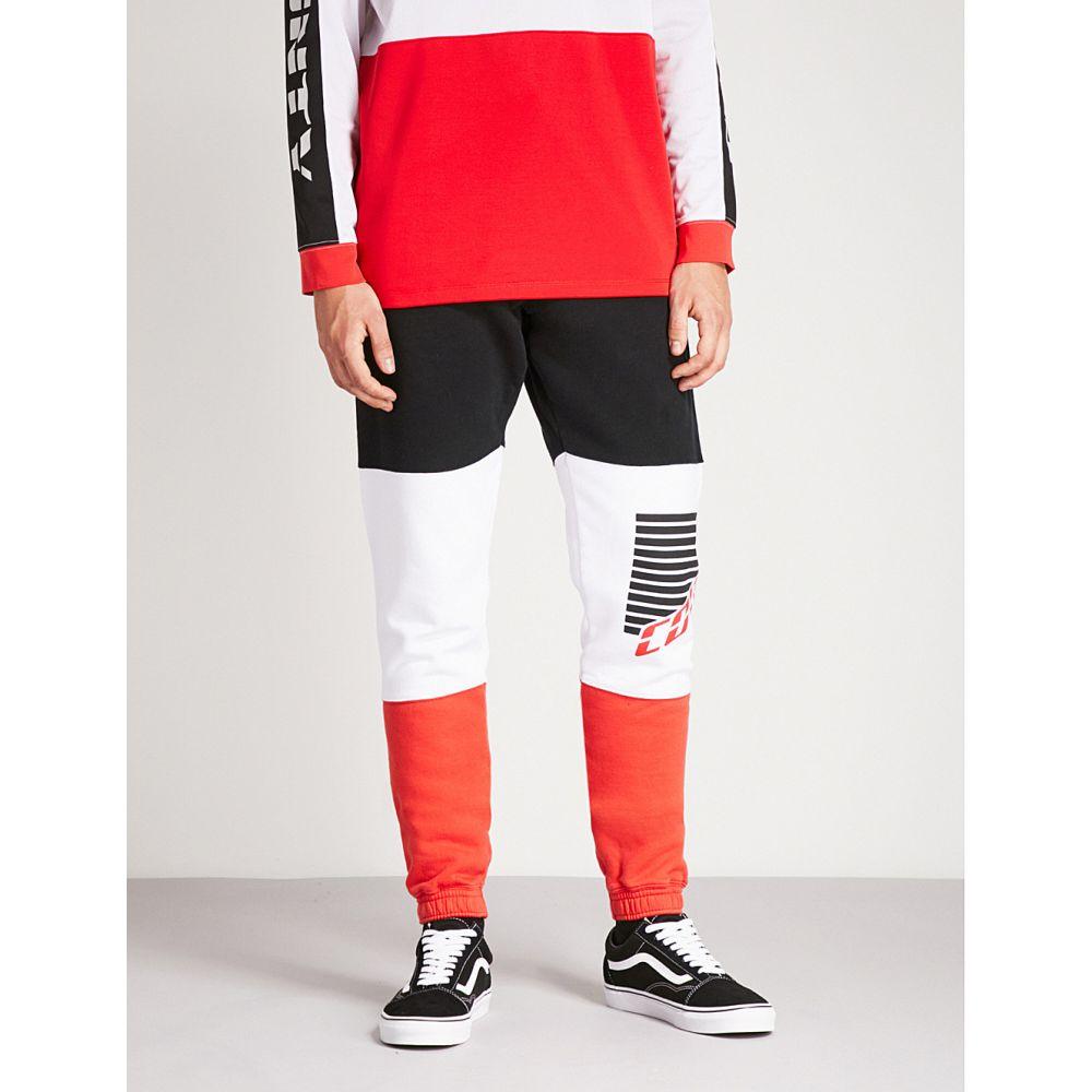 マルセロバーロン メンズ ボトムス・パンツ【county team relaxed-fit cotton-jersey jogging bottoms】Black multicolor