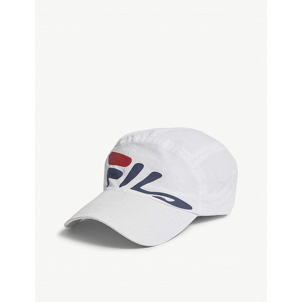 フィラ メンズ 帽子 キャップ【mindblower nylon baseball cap】White