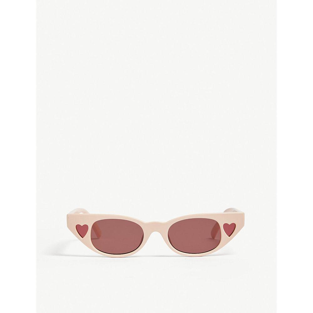 ル スペックス レディース メガネ・サングラス【the heartbreaker cat eye-frame sunglasses】Blush