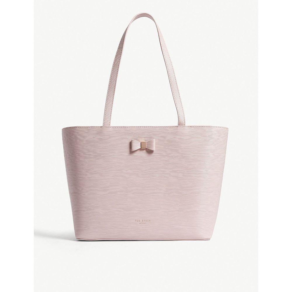 テッドベーカー レディース バッグ トートバッグ【deanie small leather shopper bag】Light pink